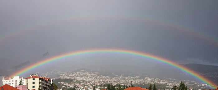 Double rainbow explained