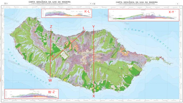 madeira-geologic-map